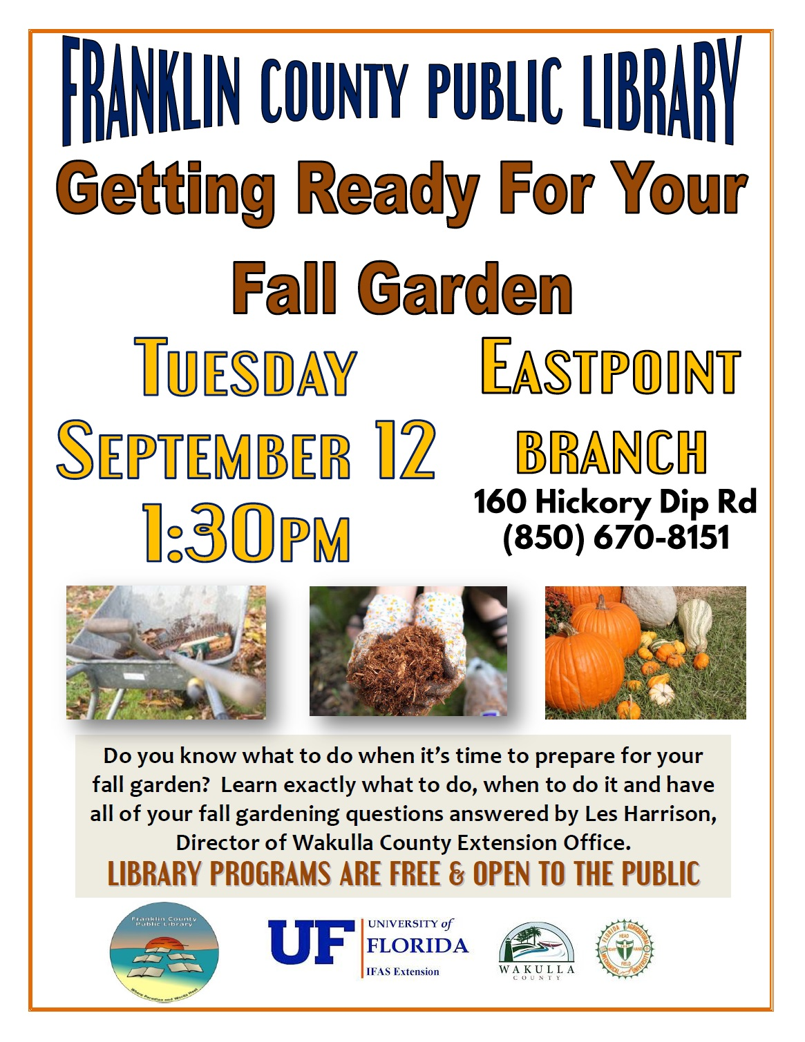 Getting ready for your fall garden franklin county for Getting ready for fall